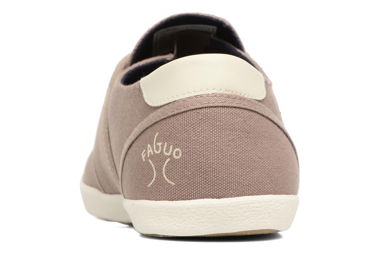 Sneaker Faguo Cypress braun ansicht von rechts