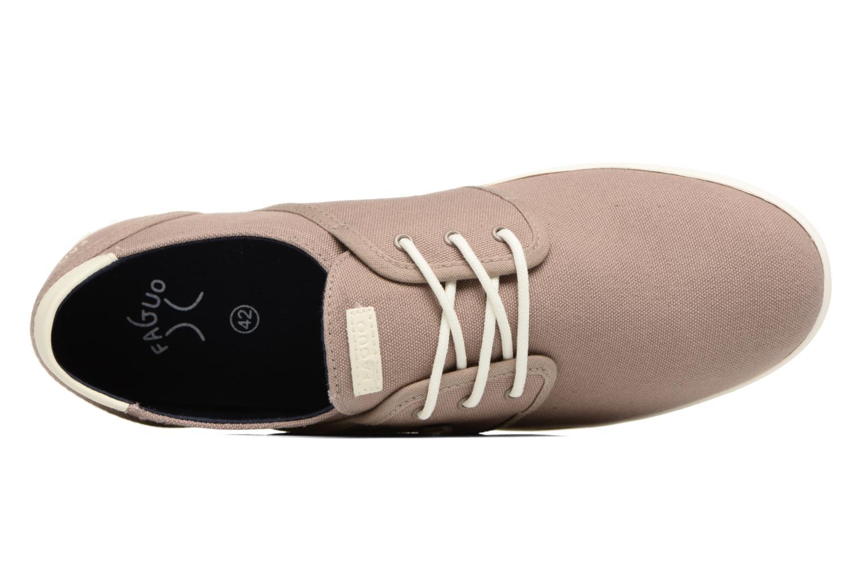 Sneaker Faguo Cypress braun ansicht von links