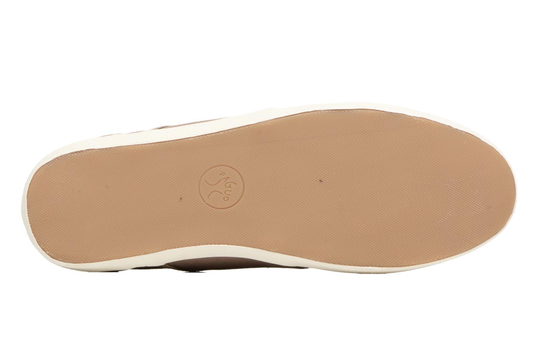 Sneakers Faguo Cypress Bruin boven