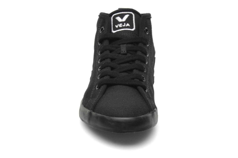 Baskets Veja Taua Mid Noir vue portées chaussures