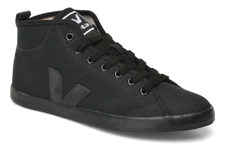 Baskets Veja Taua Mid Noir vue détail/paire