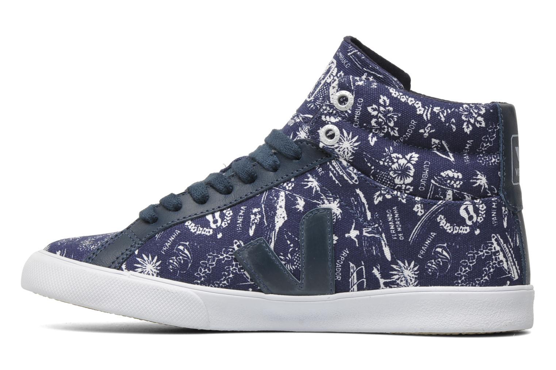 Sneakers Veja Esplar Hi Top Blauw voorkant