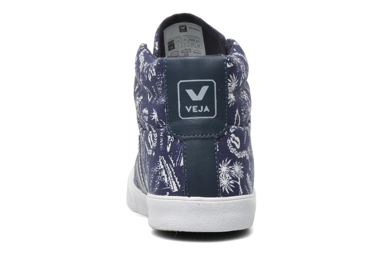 Sneakers Veja Esplar Hi Top Blauw rechts
