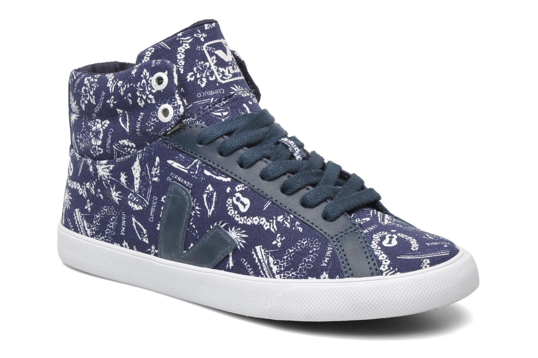 Sneakers Veja Esplar Hi Top Blauw detail