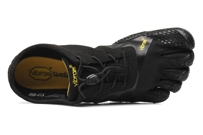 Zapatillas de deporte Vibram FiveFingers KSO-EVO Negro vista lateral izquierda