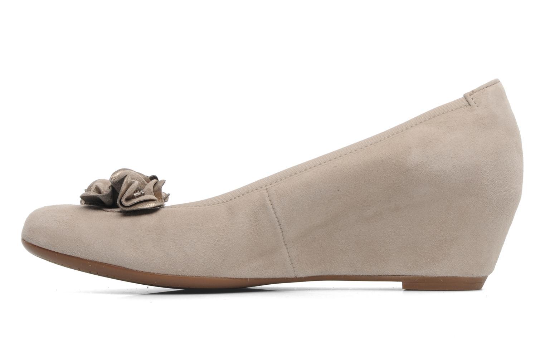 Zapatos de tacón Gabor Sidney Beige vista de frente