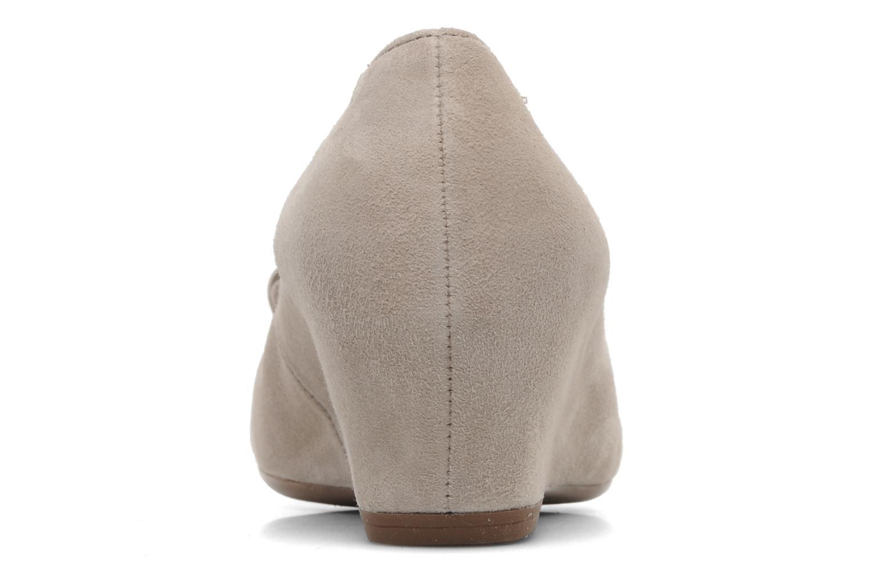 Zapatos de tacón Gabor Sidney Beige vista lateral derecha