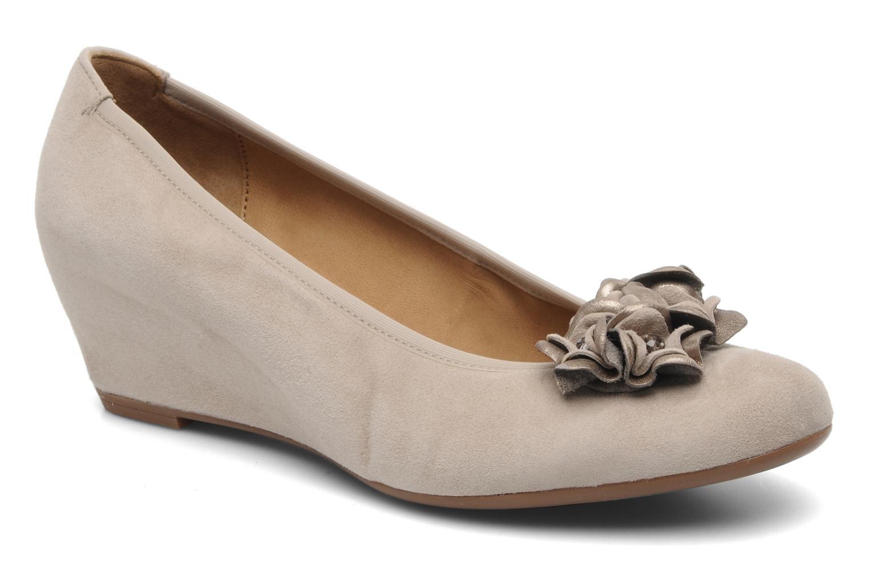 Zapatos de tacón Gabor Sidney Beige vista de detalle / par