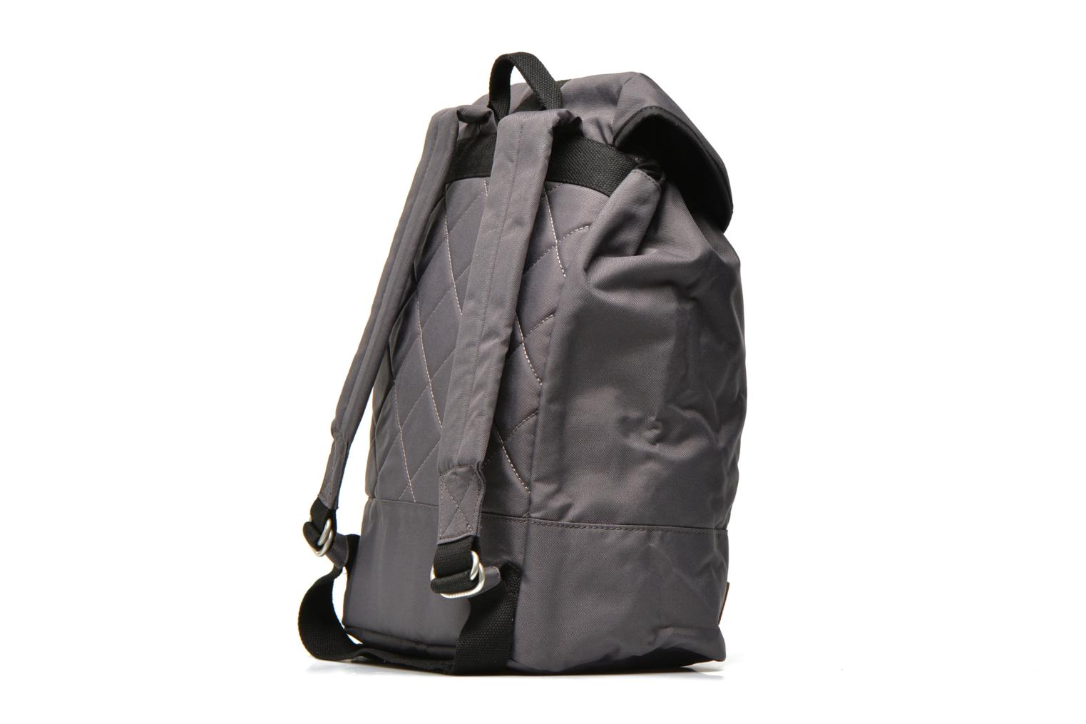 Rucksacks Faguo Bag 24 Grey view from the right