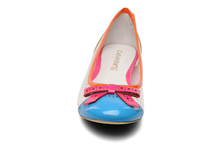 Ballerines Cafè Noir Lombardia Multicolore vue portées chaussures