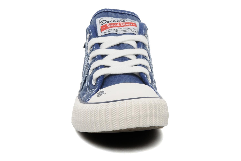 Sneaker Dockers Vivette blau schuhe getragen