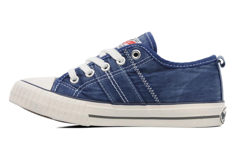 Sneaker Dockers Vivette blau ansicht von vorne