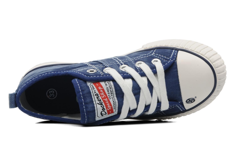 Sneaker Dockers Vivette blau ansicht von links