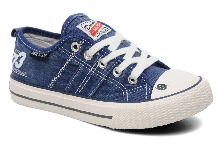 Sneakers Dockers Vivette Blauw detail