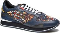 65 tiger print navy