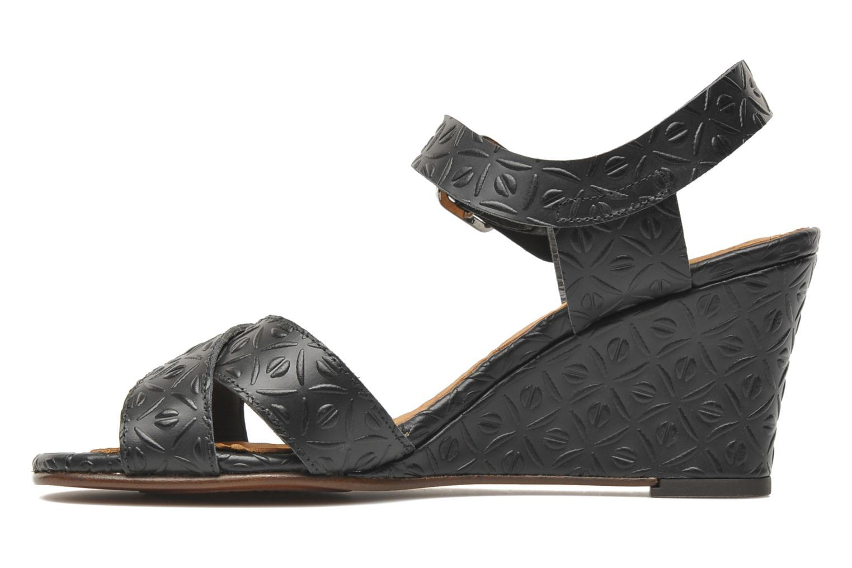 Sandalen Chie Mihara Senyorita schwarz ansicht von vorne