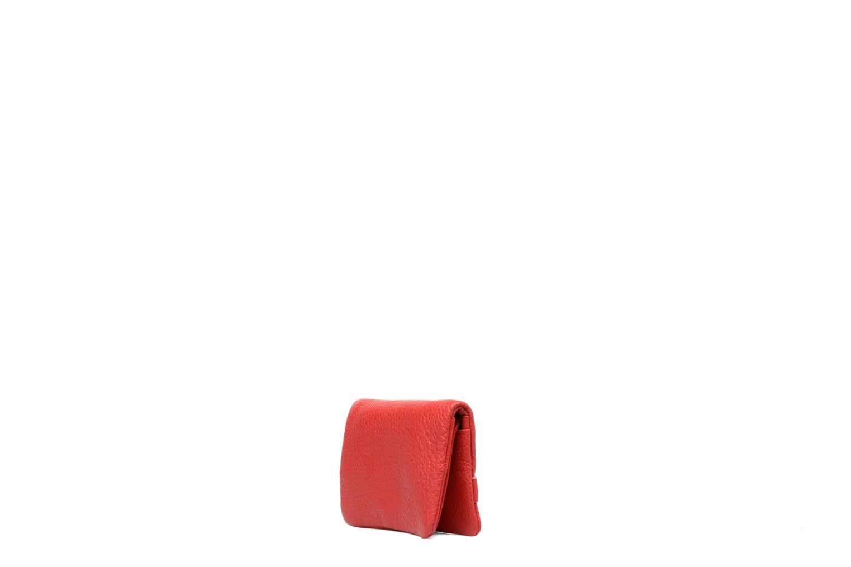 Petite Maroquinerie Nat & Nin Lilou Rouge vue droite