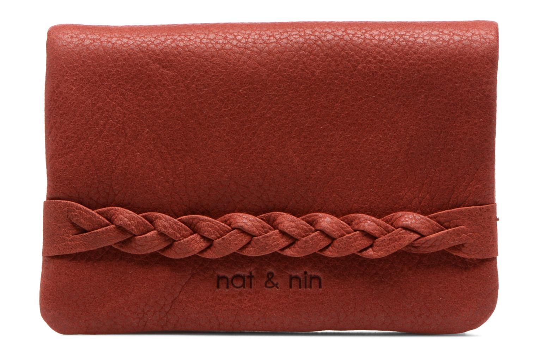 Petite Maroquinerie Nat & Nin Lilou Rouge vue détail/paire