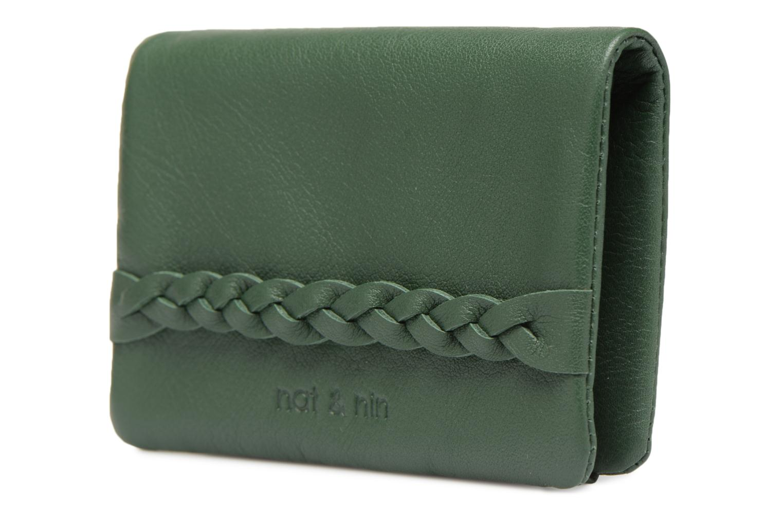 Pelletteria Nat & Nin Lilou Verde modello indossato