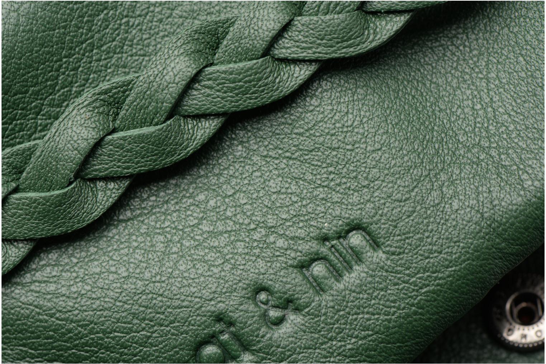 Portemonnaies & Clutches Nat & Nin Lilou grün ansicht von links