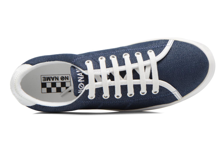 Sneakers No Name Plato Sneaker Strass Blå se fra venstre