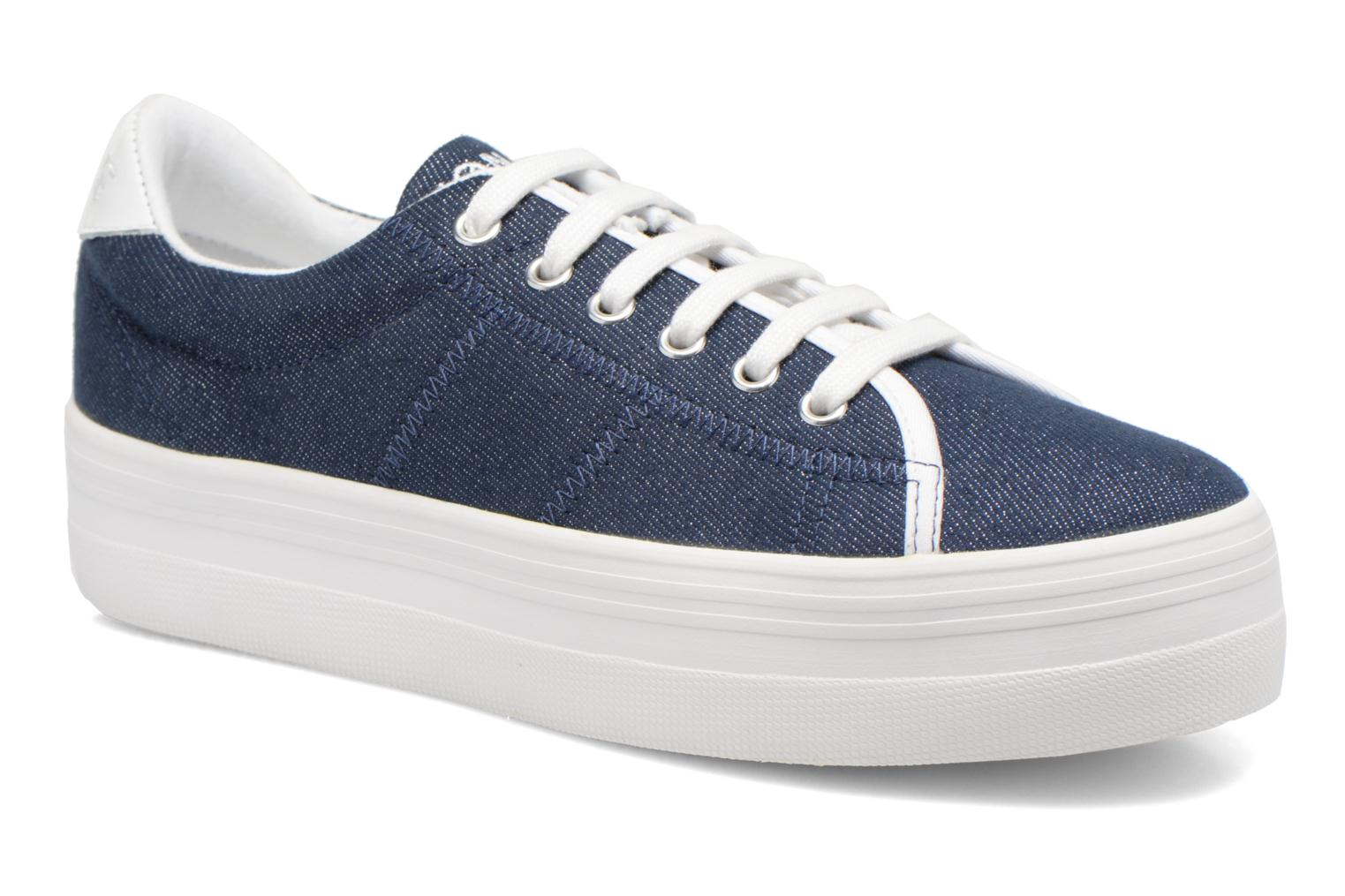 Plato Sneaker Strass Navy Fox White