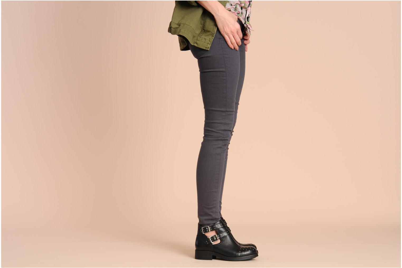 Bottines et boots Koah Nadisa Noir vue bas / vue portée sac