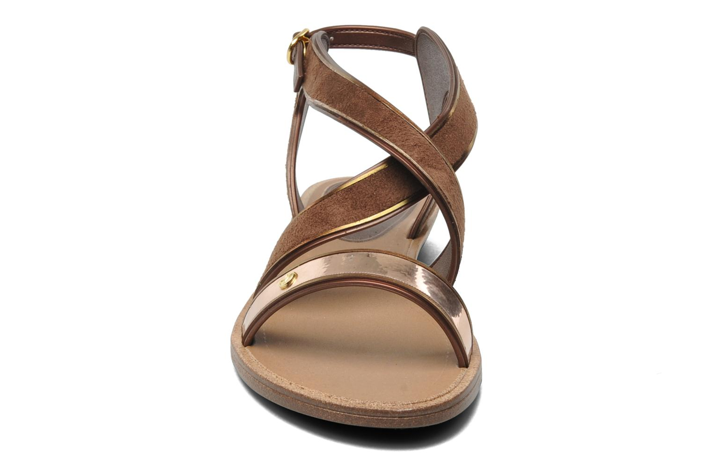 Amour Sandal Fem Beige/Bronze