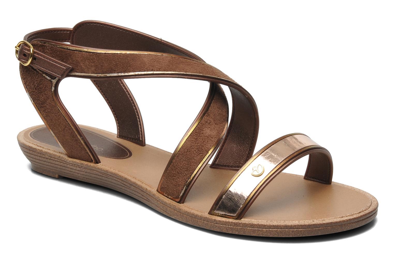 Sandaler Grendha Amour Sandal Fem Brun detaljeret billede af skoene