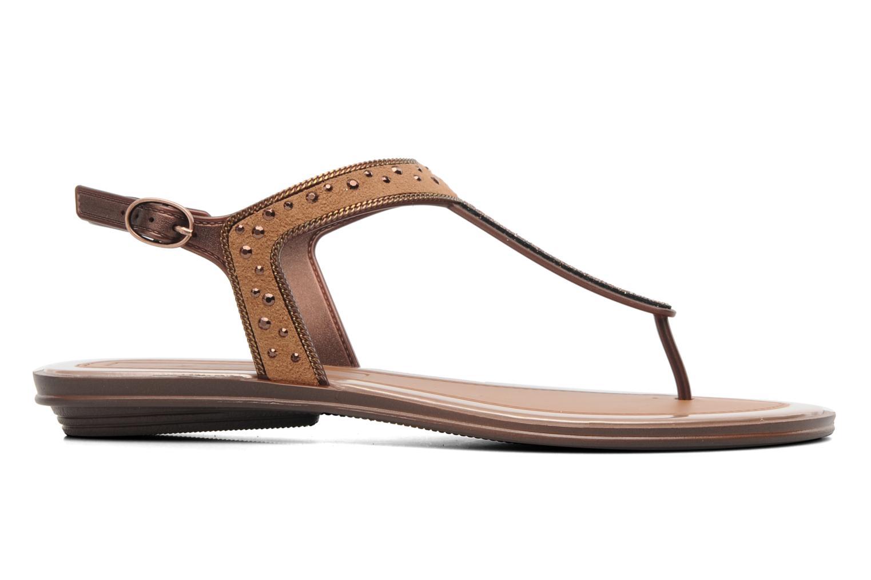 Sandales et nu-pieds Grendha Golden Fem Marron vue derrière