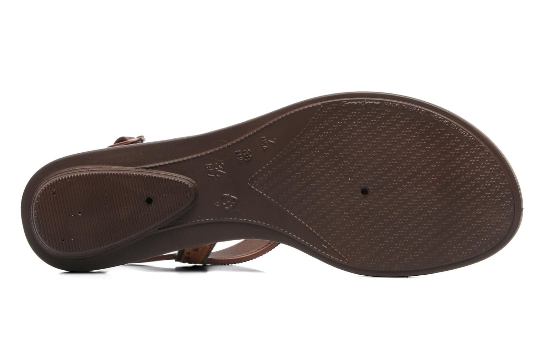 Sandales et nu-pieds Grendha Golden Fem Marron vue haut