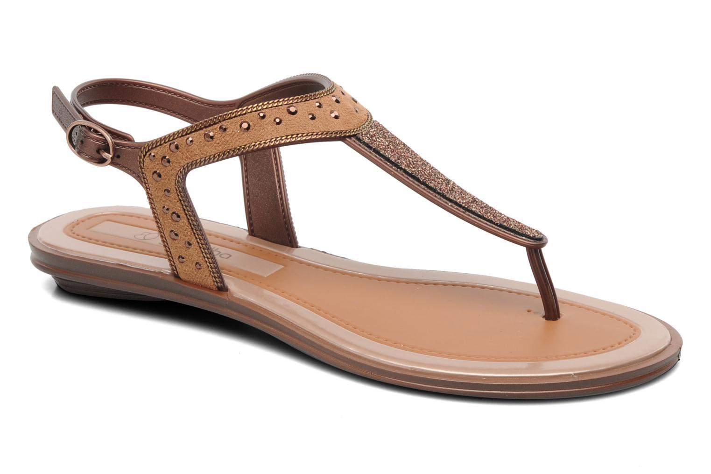 Sandales et nu-pieds Grendha Golden Fem Marron vue détail/paire