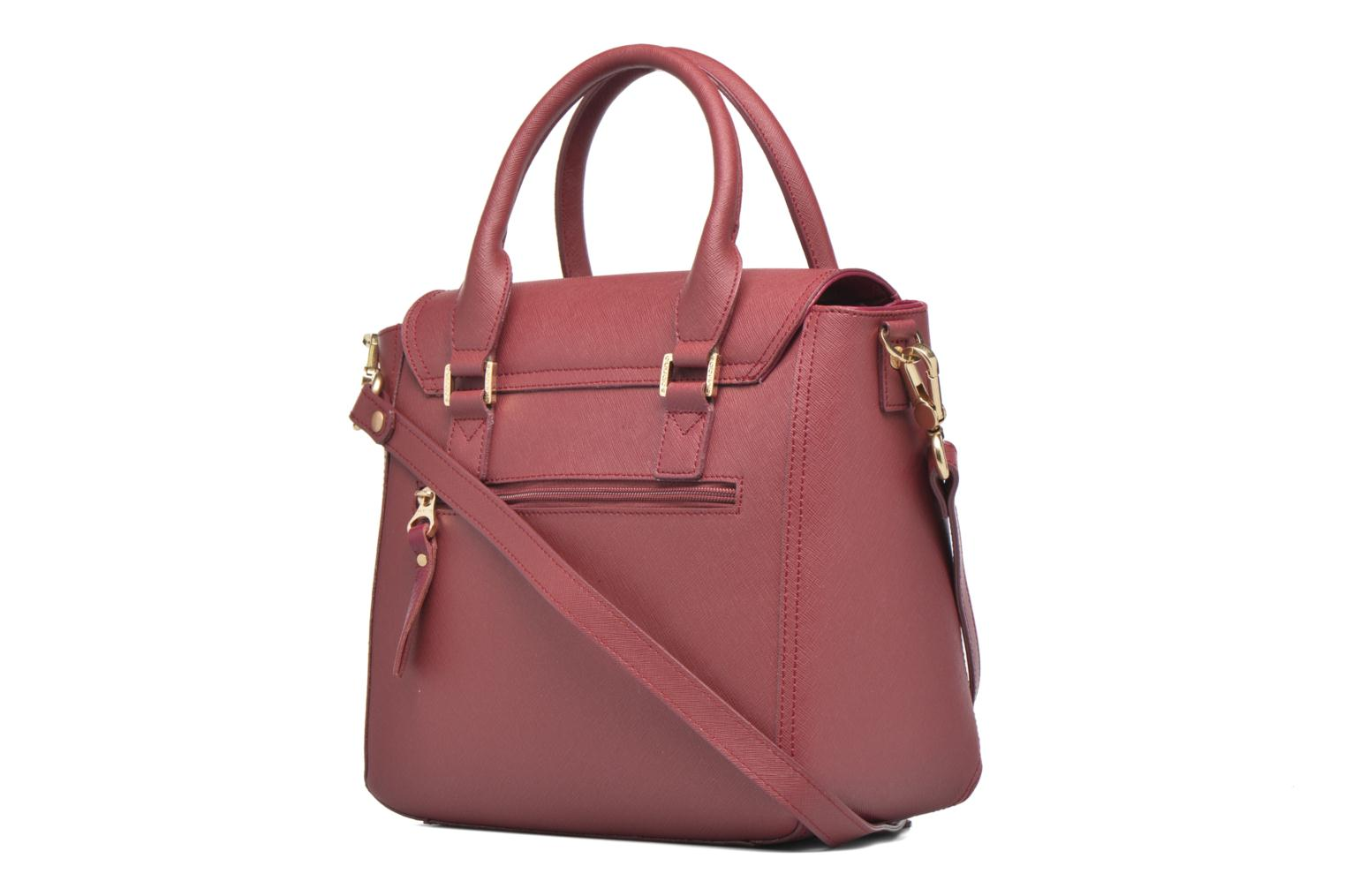 Handbags Sabrina Ilona Pink view from the right