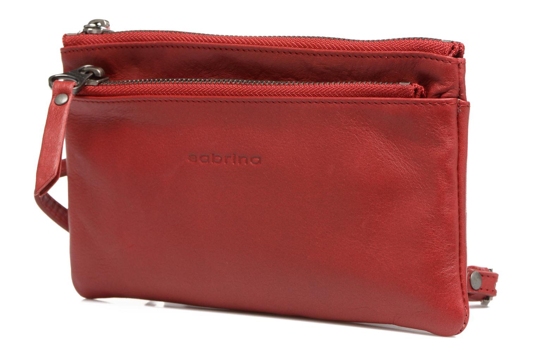 Portemonnaies & Clutches Sabrina Suri rot schuhe getragen