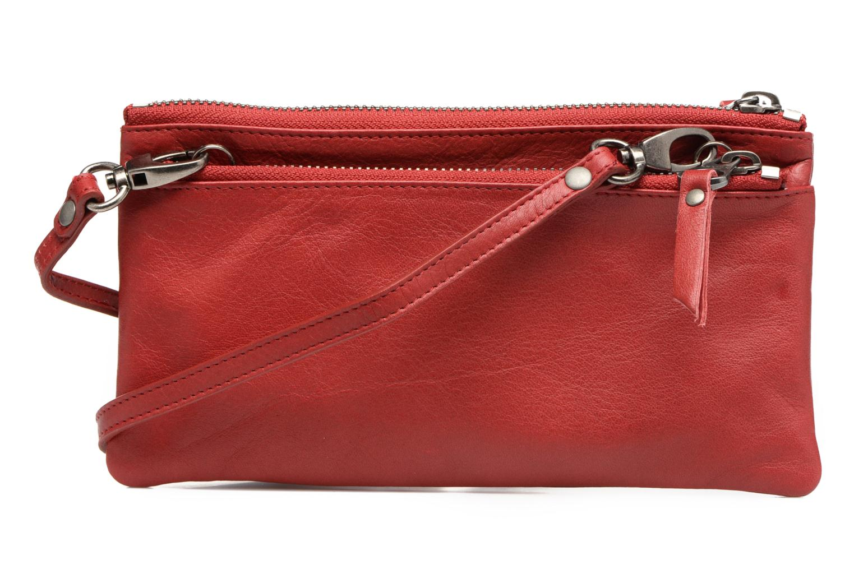 Portemonnaies & Clutches Sabrina Suri rot ansicht von vorne