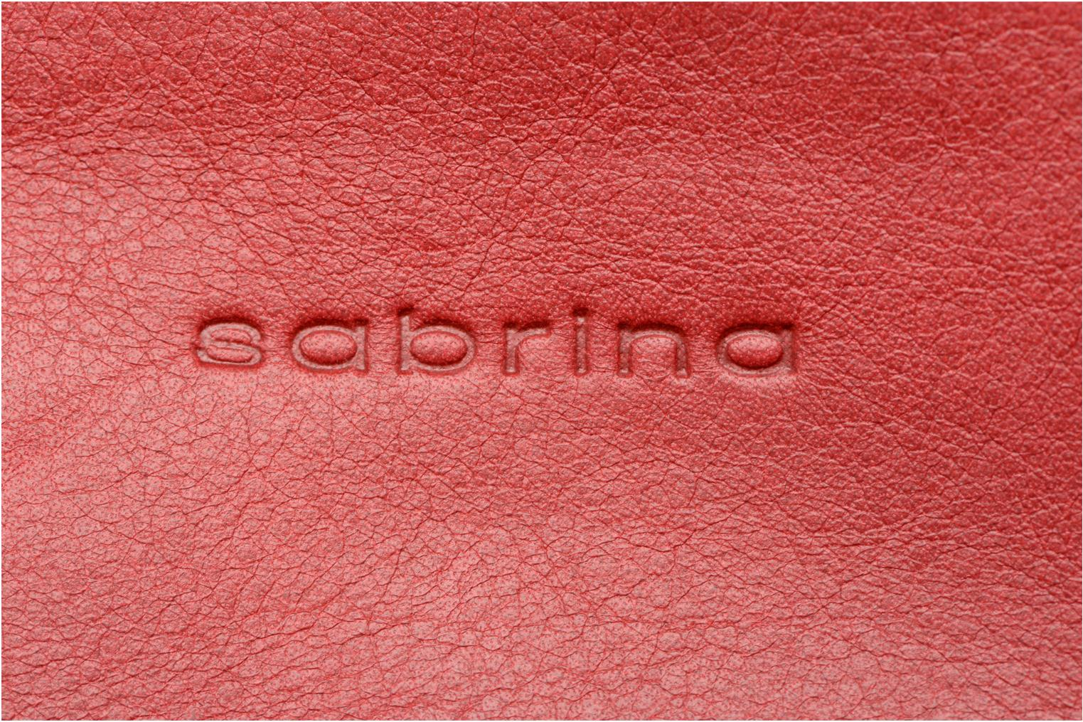 Wallets & cases Sabrina Suri Red back view