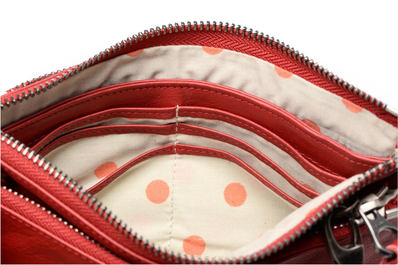 Portemonnaies & Clutches Sabrina Suri rot ansicht von links