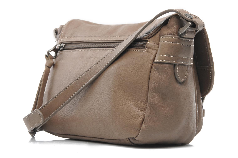 Handtaschen Sabrina Nicky grau ansicht von rechts