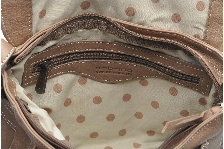 Handtaschen Sabrina Nicky grau ansicht von hinten