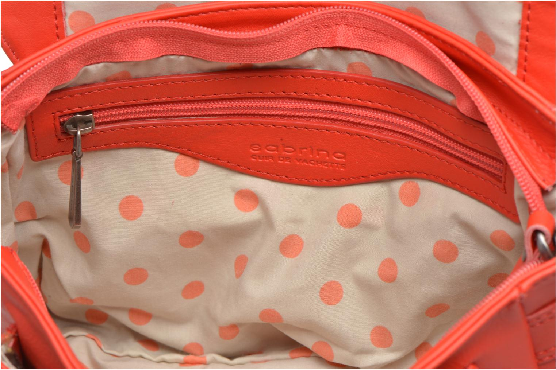 Handtassen Sabrina Nicky Rood achterkant