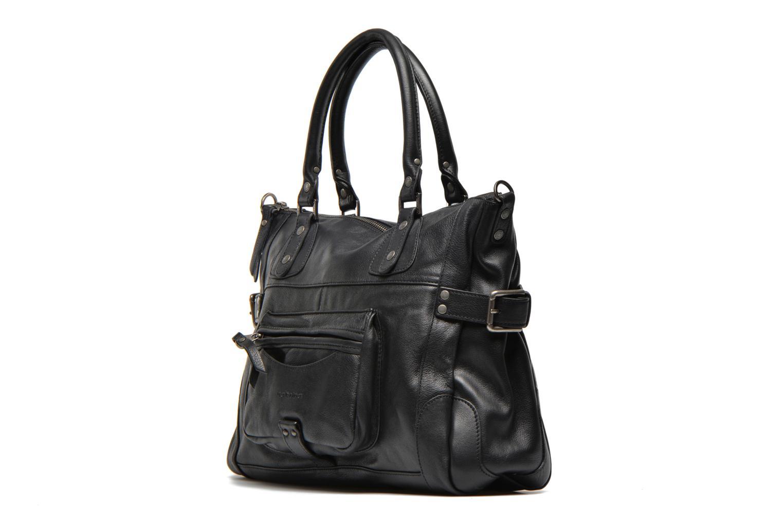 Handtaschen Sabrina Camille schwarz schuhe getragen