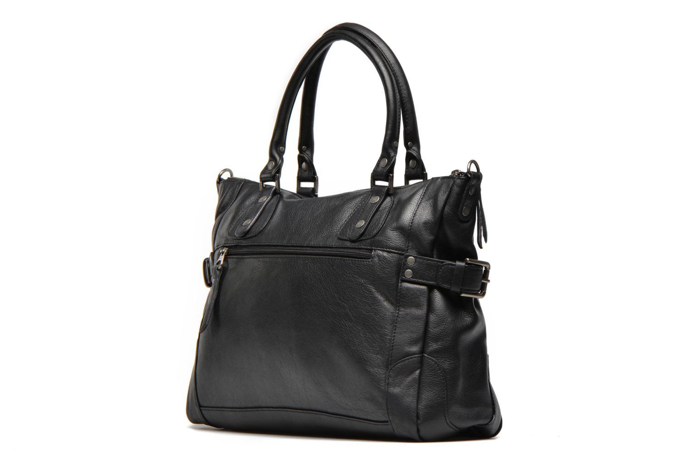 Handtaschen Sabrina Camille schwarz ansicht von rechts