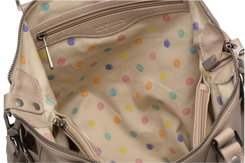 Handtaschen Sabrina Camille beige ansicht von hinten