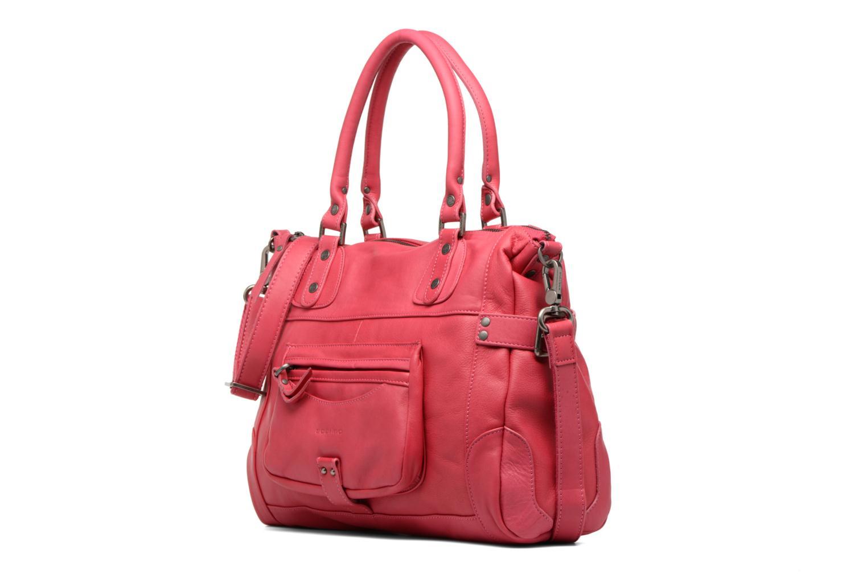 Handtaschen Sabrina Camille rosa schuhe getragen