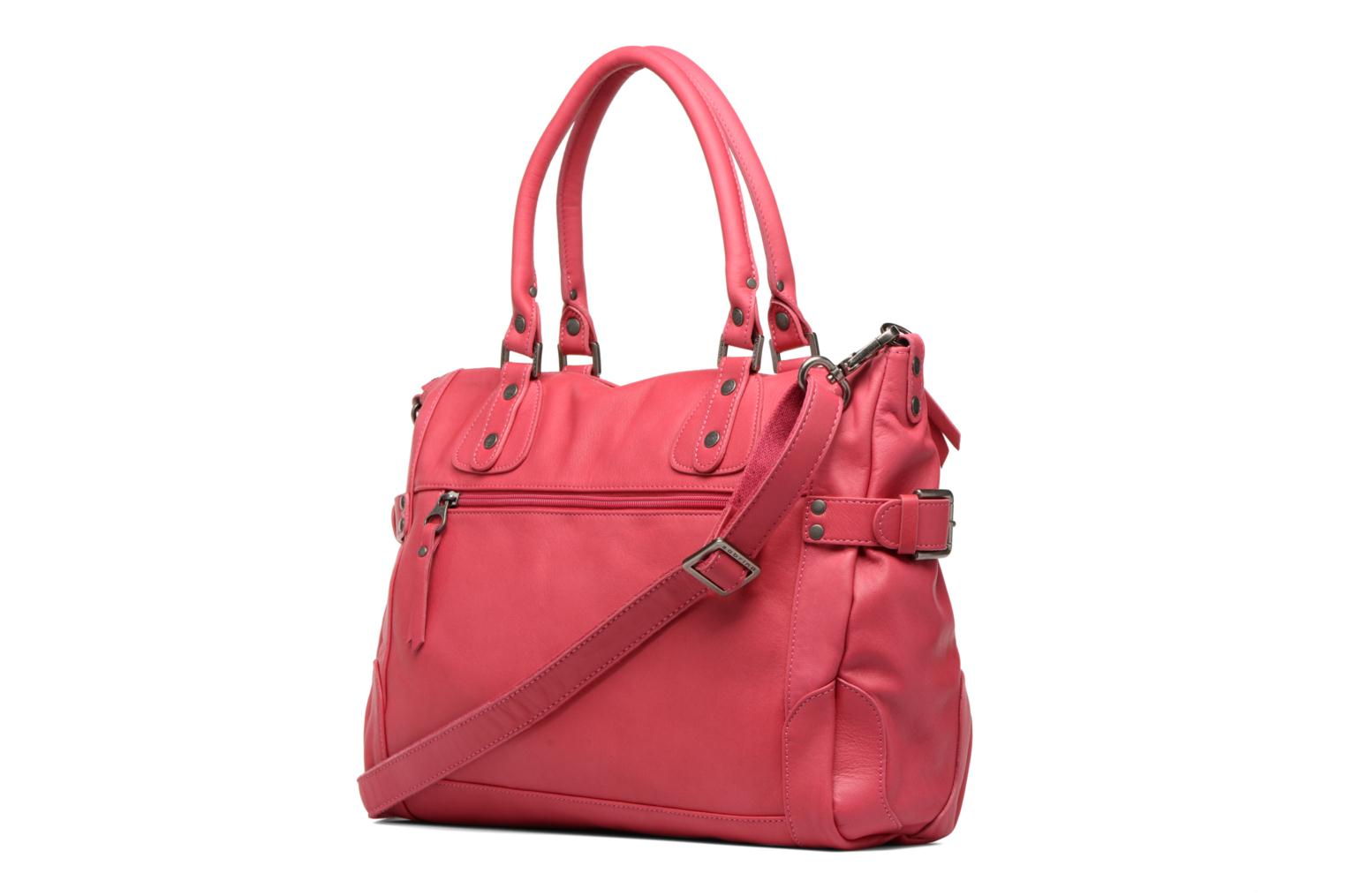 Handbags Sabrina Camille Pink view from the right