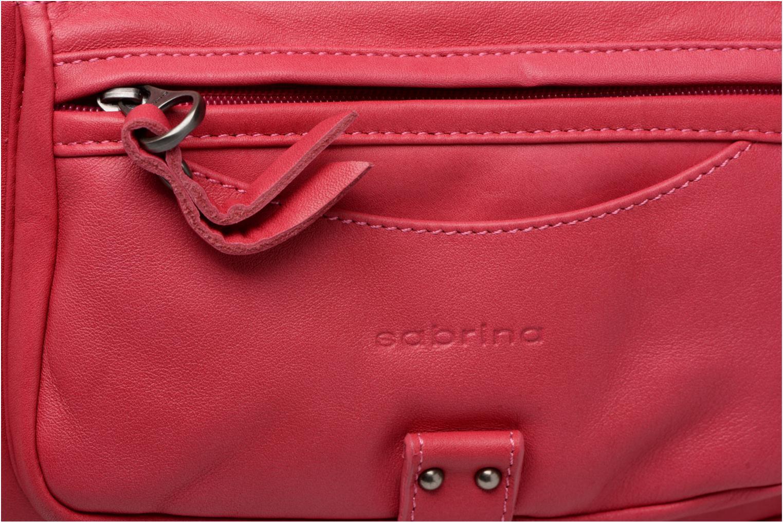 Handtaschen Sabrina Camille rosa ansicht von links