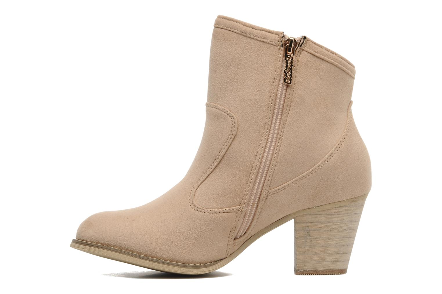 Bottines et boots Refresh Barabara Beige vue face