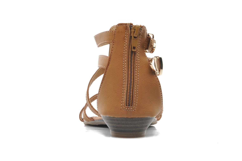 Sandalen Refresh Belle braun ansicht von rechts