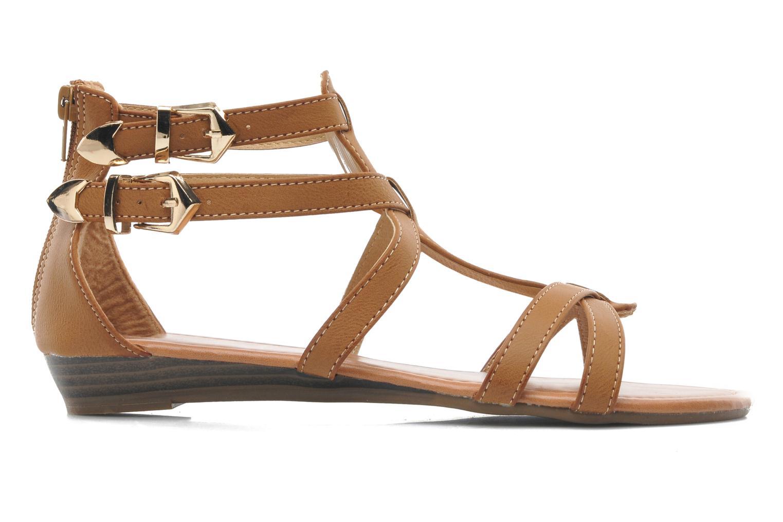 Sandalen Refresh Belle braun ansicht von hinten