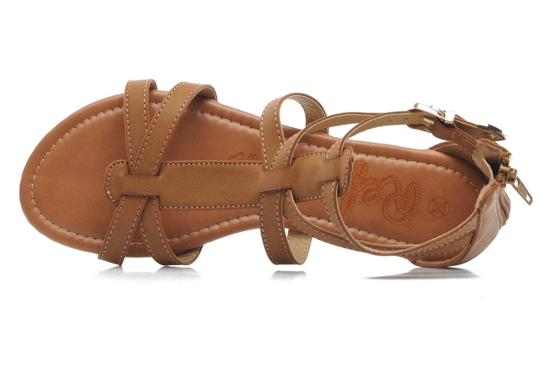 Sandalen Refresh Belle braun ansicht von links
